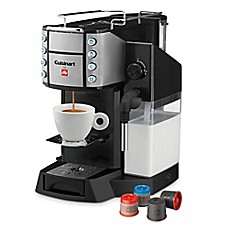 image of Cuisinart® Buona Tazza EM-600 Superautomatic Single Serve Espresso and Latte Coffee Machine