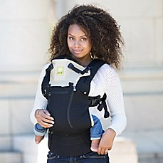 image of lillebaby® COMPLETE™ ALL SEASONS Baby Carrier in Black/Camel