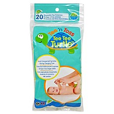 image of Hamco Tee 'n Toss 20-Count Tee Tee Turtle™ Disposable Pee Protector
