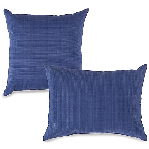 Outdoor Throw Pillows In Pool Bed Bath Amp Beyond