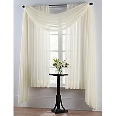 Image Of Smart Sheer™ Insulating Voile Window Curtain Panel