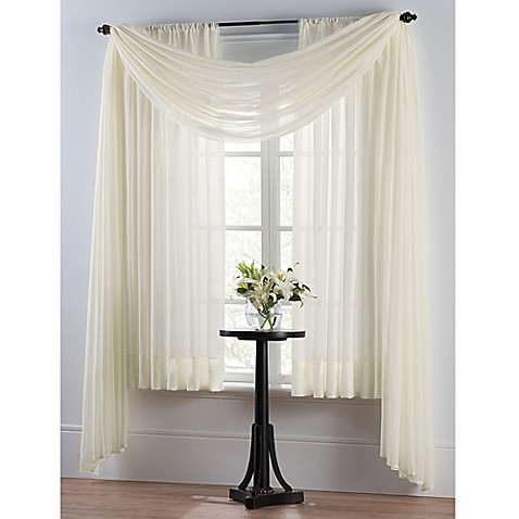 Curtains Ideas bed bath and beyond drapes and curtains : Window Curtains & Drapes - Sheers | Bed Bath & Beyond