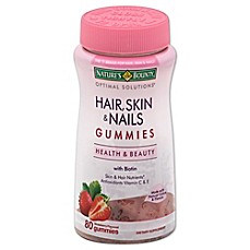image of Nature's Bounty® Optimal Solutions® 80-Count Hair, Skin and Nails Gummies