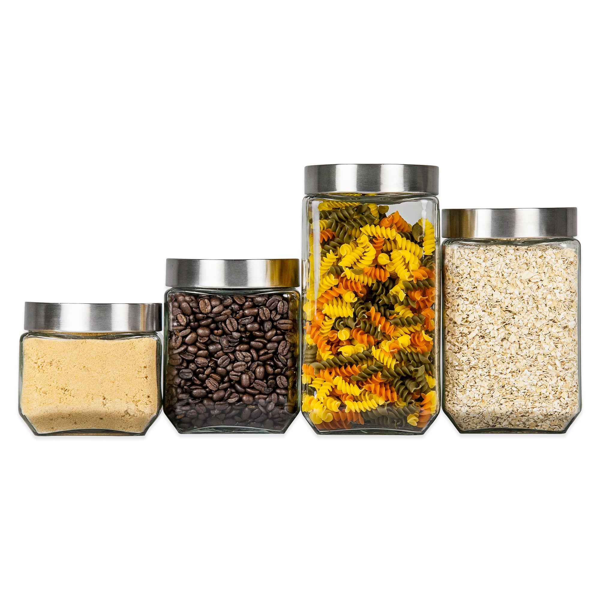 food storage cookie jars canister sets u0026 glass bowls with lids