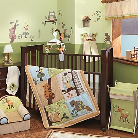 Lambs Amp Ivy 174 Enchanted Forest Crib Bedding Collection
