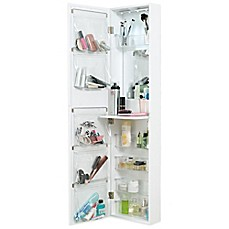 Image Of Door Solutions Over The Mirror And Cosmetic Organizer
