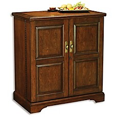 Image Of Howard Miller Lodi Wine Bar Cabinet In Americana Cherry