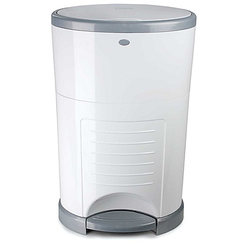 Diaper Dekor Classic Diaper Disposal System in White