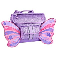 image of Bixbee Sparkalicious Butterflyer Backpack in Purple