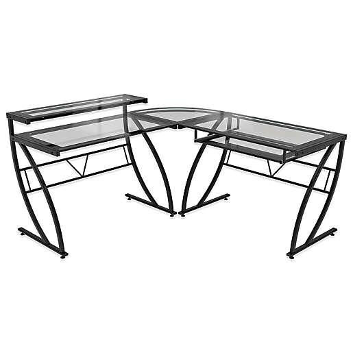 Z Line Designs Feliz L Shaped Glass, Z Line Furniture
