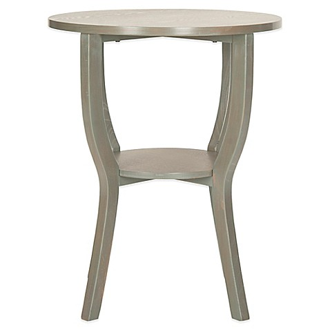 safavieh accent table in grey bed bath beyond