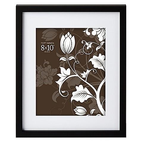 Prinz Soho 8 Inch X 10 Inch Picture Frame In Black Bed