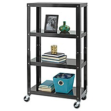 image of Studio 3B™ 4-Tier Metal Shelving in Black