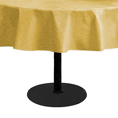 Round Vinyl Umbrella Table Cloths 26