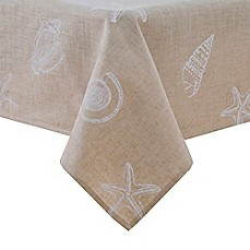 image of Stamped Shells Tablecloth