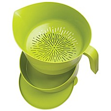 image of Easy Greasy™ Heat-Resistant Strainer