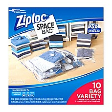 image of Ziploc® Space Bag® 10-Piece Combo Set