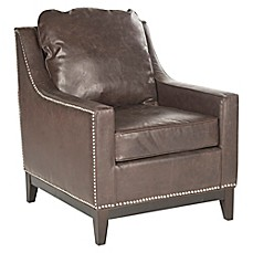 image of Safavieh Colton Club Chair  sc 1 st  Bed Bath u0026 Beyond : reclining chair bed - islam-shia.org
