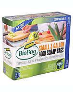 Bolsas compostables BioBag® para desperdicios de comida de 11.35 L, Paquete de 48 pzas.