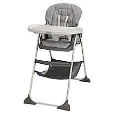 image of Graco® Slim Snacker™ High Chair in Whisk™