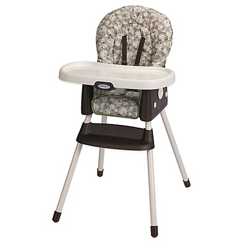 graco simpleswitch high chair booster in zuba buybuy baby. Black Bedroom Furniture Sets. Home Design Ideas