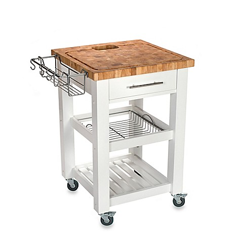 Chris Chris Pro Chef 24 Inch Square Kitchen Island Work