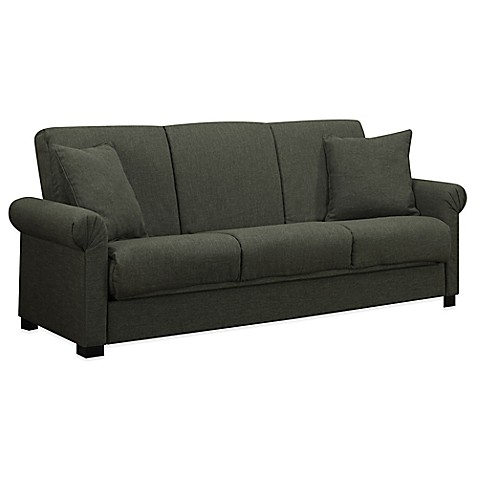 Handy Living Convert A Couch : Buy Handy Living Convert-a-Couch® in Smoky Charcoal Grey ...