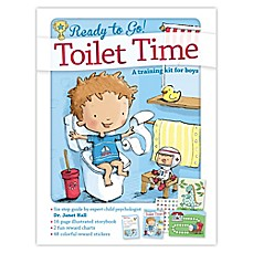image of Ready to Go Toilet Time Potty: A Training Kit for Boys by Dr. Janet Hall
