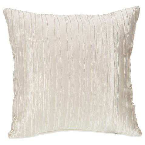 Glenna Jean Heaven Sent Crinkle Throw Pillow In Cream