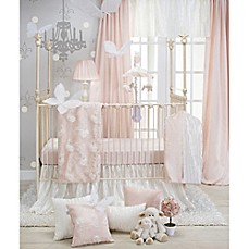 image of Glenna Jean Lil Princess Crib Bedding Collection in Cream/Pink