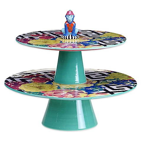 Tracy Porter® Poetic Wanderlust® Reverie 2-Tiered Cake Stand