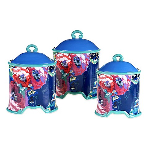 Tracy Porter Poetic Wanderlust Reverie 3 Piece Canister Set Bed Bath Beyond