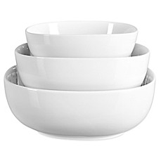 image of Tabletops Unlimited® Denmark Tools for Cooks® Oven to Table 3-Piece Serving Bowl Set