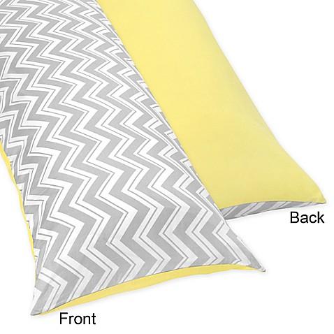 Buy Sweet Jojo Designs Zig Zag Maternity Body Pillow Case