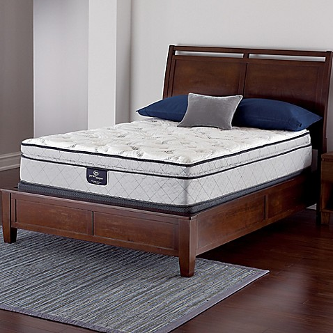 Buy Serta Perfect Sleeper Crandon Super Pillow Top Low Profile Twin Mattress Set From Bed Bath