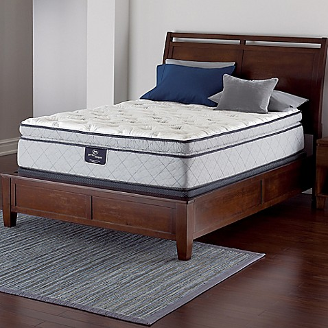 Buy Serta Perfect Sleeper Felton Super Pillow Top Low