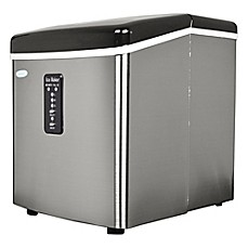 image of NewAir 28 lb. Stainless Steel Portable Ice Maker