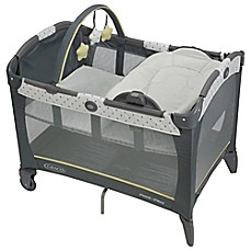 image of Graco® Pack 'n Play® Playard with Reversible Napper & Changer™ in Sprinkle™