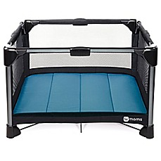 image of 4moms® breeze® Playard in Blue
