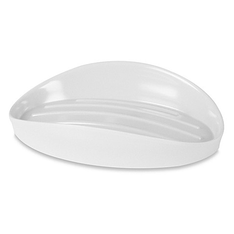 Buy umbra curvino soap dish in white from bed bath beyond - Umbra soap dish ...