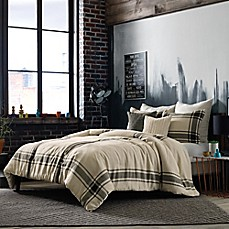 image of Studio 3B™ by Kyle Schuneman Harris Comforter Set in Taupe