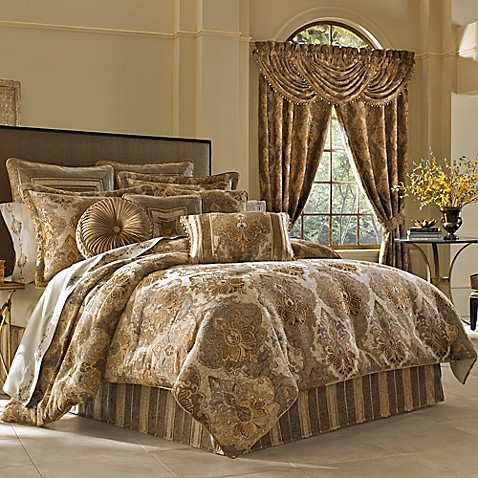 J Queen New York Woodbury Comforter Set Bed Bath Amp Beyond