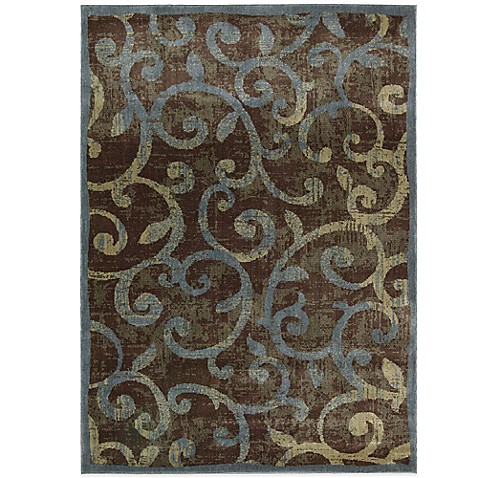 Nourison Expressions Swirls Area Rug In Multicolor Bed