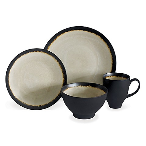 Baum Galaxy Coupe 16-Piece Dinnerware Set in Sand  sc 1 st  Bed Bath \u0026 Beyond : bed bath and beyond dinnerware - pezcame.com
