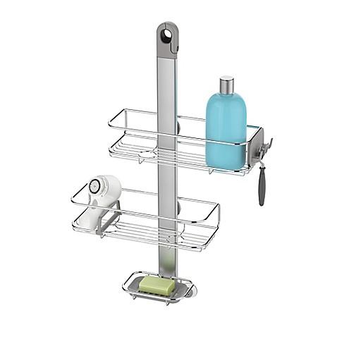 Simplehumanu0026reg; Adjustable Shower Caddy