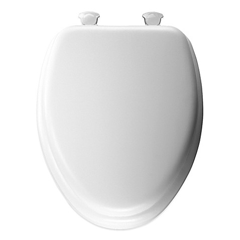 Buy Mayfair Cushioned Vinyl Soft Elongated Toilet Seat
