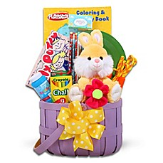 image of Lavender Woodchip Food-Free Jamboree Easter Basket
