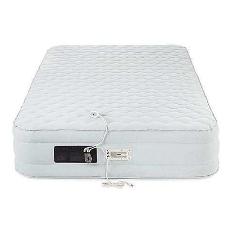 image of aerobed luxury pillow top 16inch air mattress