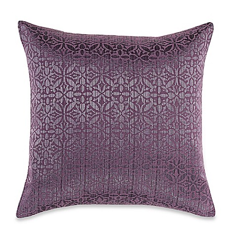 Myop Throw Pillow Covers : Buy MYOP Orchid Square Throw Pillow Cover in Purple from Bed Bath & Beyond
