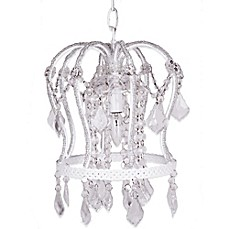 image of Tadpoles™ by Sleeping Partners Crown Chandelier in White